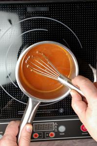 Préparation pour spaghetti d'une base semi-liquide