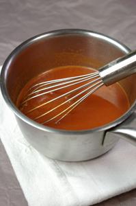 Réalisation de spaghetti à la seringue