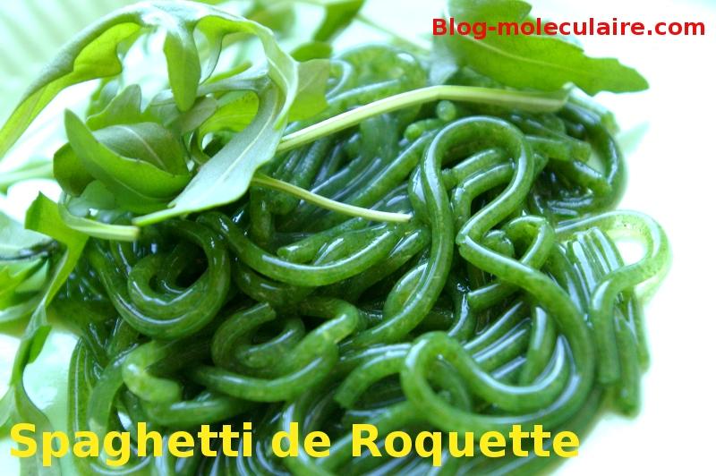 Spaghettis de Roquette
